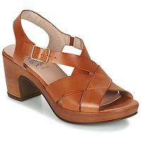 kengät Naiset Sandaalit ja avokkaat Wonders DRESCA COGNAC