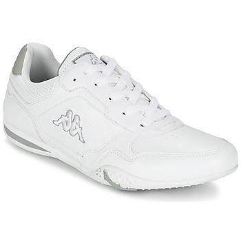 kengät Miehet Matalavartiset tennarit Kappa SPIRIDO White