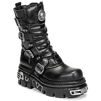 kengät Bootsit New Rock NEMESIS Black