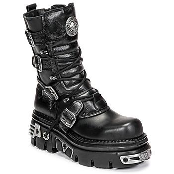 kengät Bootsit New Rock NEMESIS Black
