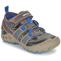 kengät Tytöt Sandaalit ja avokkaat Geox J SAND.KYLE A Brown