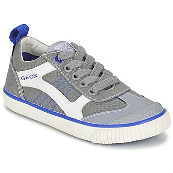 kengät Pojat Matalavartiset tennarit Geox J KIWI B. J Grey