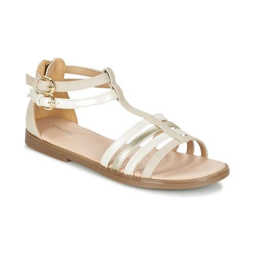 kengät Tytöt Sandaalit ja avokkaat Geox J S.KARLY G. D BEIGE