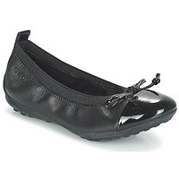 kengät Tytöt Balleriinat Geox J PIUMA BAL F Black