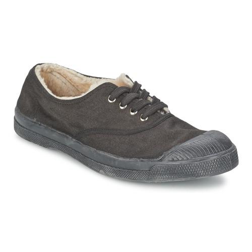 kengät Lapset Matalavartiset tennarit Bensimon TENNIS FOURREES Grey