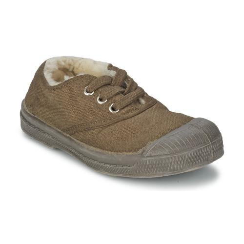 kengät Lapset Matalavartiset tennarit Bensimon TENNIS FOURREES Brown