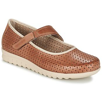 kengät Naiset Balleriinat Pitillos FARCO Brown
