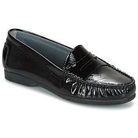 kengät Naiset Mokkasiinit Arcus DAME Black