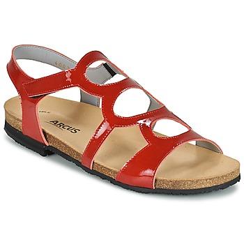 kengät Naiset Sandaalit ja avokkaat Arcus BERNER Red