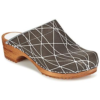 kengät Naiset Puukengät Sanita ARLA Anthracite