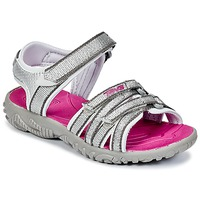 kengät Tytöt Urheilusandaalit Teva TIRRA Silver