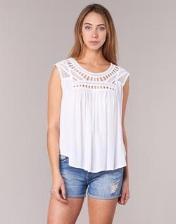 vaatteet Naiset Hihattomat paidat / Hihattomat t-paidat Rip Curl AMOROSA TOP White