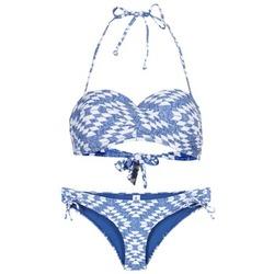 vaatteet Naiset kaksiosainen uimapuku Rip Curl DEL SOL BANDEAU SET Blue