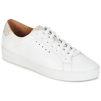 kengät Naiset Matalavartiset tennarit MICHAEL Michael Kors IRVING LACE UP White