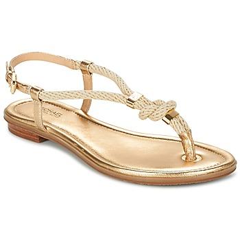 kengät Naiset Sandaalit ja avokkaat MICHAEL Michael Kors HOLLY Gold