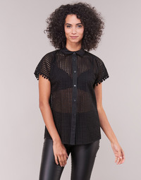 vaatteet Naiset Paitapusero / Kauluspaita Love Moschino WCC0480 Black