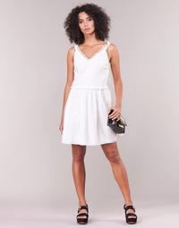 vaatteet Naiset Lyhyt mekko Love Moschino WVF3880 White