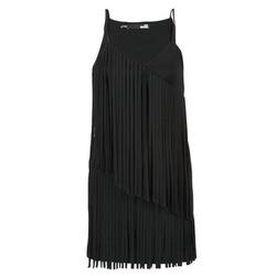 vaatteet Naiset Lyhyt mekko Love Moschino W595800 Black