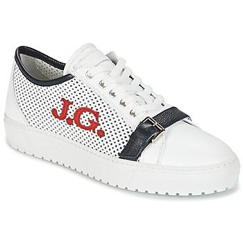 kengät Miehet Matalavartiset tennarit John Galliano 2477CA White