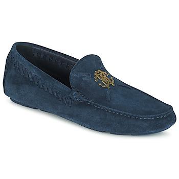 kengät Miehet Mokkasiinit Roberto Cavalli 2022A Blue