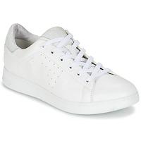 kengät Naiset Matalavartiset tennarit Geox JAYSEN A White