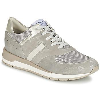 kengät Naiset Matalavartiset tennarit Geox SHAHIRA A Grey