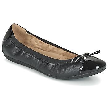 kengät Naiset Balleriinat Geox D LOLA 2FIT C Black