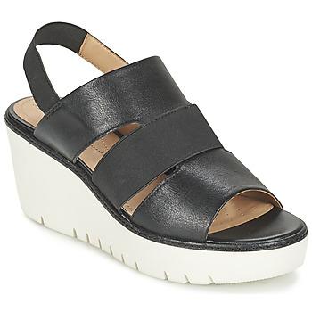 kengät Naiset Sandaalit ja avokkaat Geox D DOMEZIA B Black
