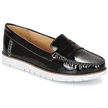 kengät Naiset Derby-kengät Geox D KOOKEAN F Black