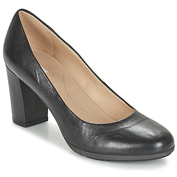 kengät Naiset Korkokengät Geox D ANNYA A Black