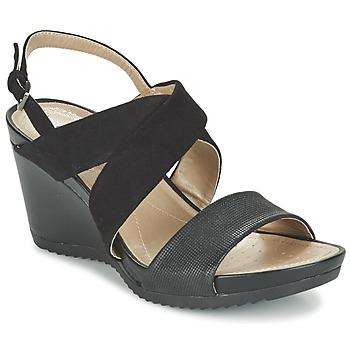 kengät Naiset Sandaalit ja avokkaat Geox D NEW RORIE A Black
