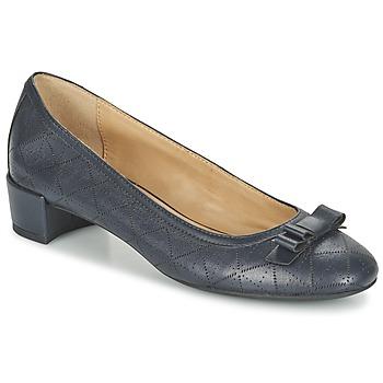 kengät Naiset Balleriinat Geox D CAREY A Laivastonsininen