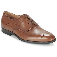 kengät Miehet Derby-kengät Geox U NEW LIFE A Brown