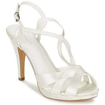 kengät Naiset Sandaalit ja avokkaat Menbur AMPARO Creme