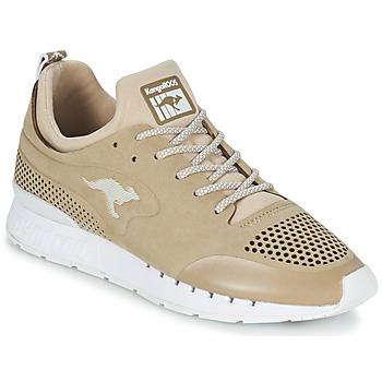 kengät Matalavartiset tennarit Kangaroos COIL 2.0 MONO BEIGE