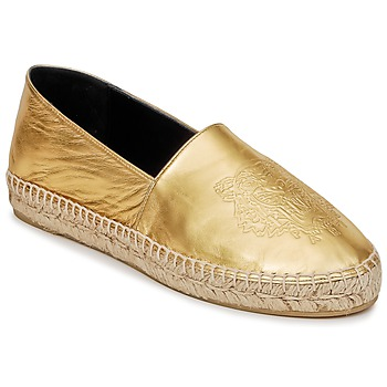 kengät Naiset Espadrillot Kenzo TIGER METALIC SYNTHETIC LEATHER Gold