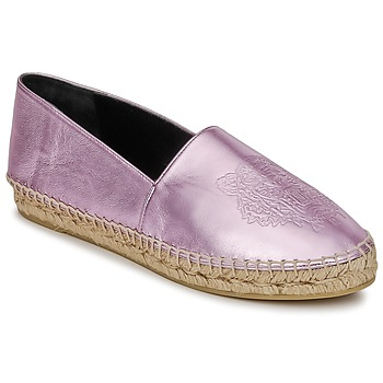 kengät Naiset Espadrillot Kenzo TIGER METALIC SYNTHETIC LEATHER Pink