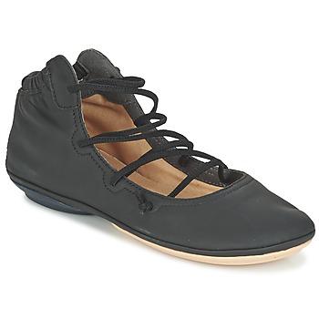 kengät Naiset Balleriinat Camper RIGHT NINA Black