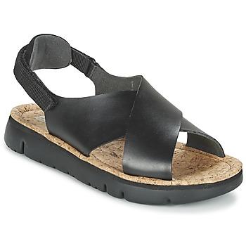kengät Naiset Sandaalit ja avokkaat Camper ORUGA Black