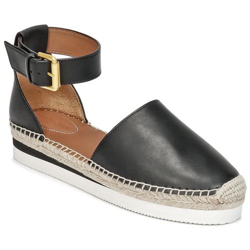 kengät Naiset Espadrillot See by Chloé SB26150 Black