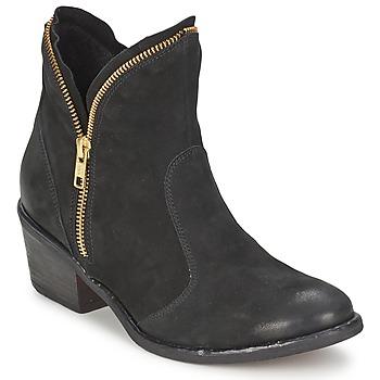 kengät Naiset Bootsit Casual Attitude LALE Black