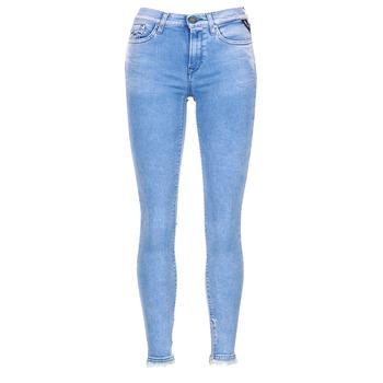 vaatteet Naiset 3/4 & 7/8-pituiset farkut Replay JOI Blue