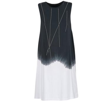 vaatteet Naiset Lyhyt mekko Replay WOOPINA Black / White