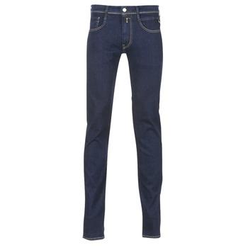 vaatteet Miehet Slim-farkut Replay WOUAPO Blue
