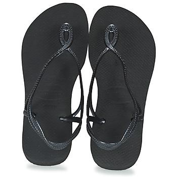 kengät Naiset Varvassandaalit Havaianas LUNA Black