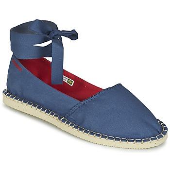 kengät Naiset Espadrillot Havaianas ORIGINE SLIM Blue