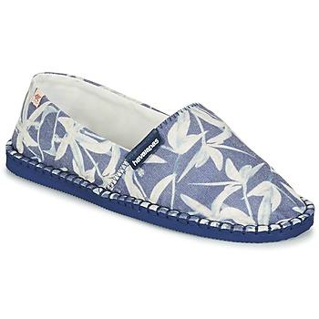 kengät Espadrillot Havaianas ORIGINE ORQUIDEAS Laivastonsininen / White