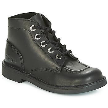 kengät Naiset Bootsit Kickers KICK COL PERM Black