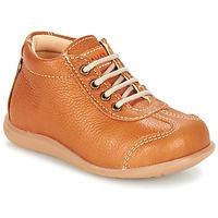 kengät Lapset Bootsit Kavat ALMUNGE Ruskea