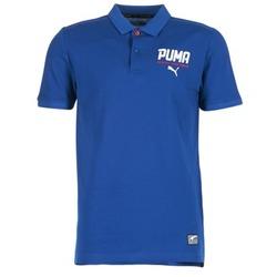 vaatteet Miehet Lyhythihainen poolopaita Puma STYLE TEC POLO Blue